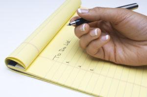 Make a To Do List